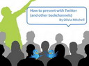 Free eBook: How to Present with Twitter