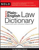 Free Online Book: Nolo's Plain-English Law Dictionary