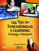 Free eLearning eBook: 144 Tips on Synchronous e-Learning Strategy + Research