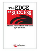 The Edge of Success: 9 Building Blocks to Double Your Sales